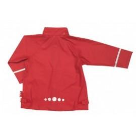 regenjas kind rood playshoes