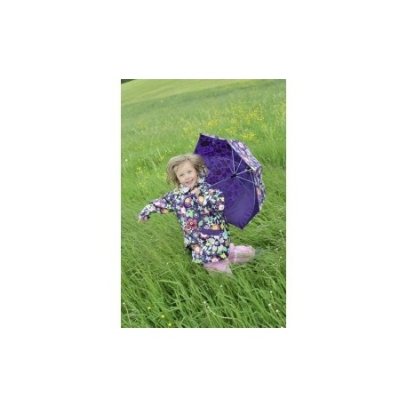 regenjas meisjes violet