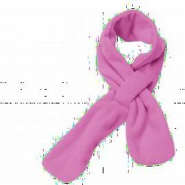 Fleece sjaal - Roze