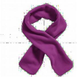 sjaal fleece paars