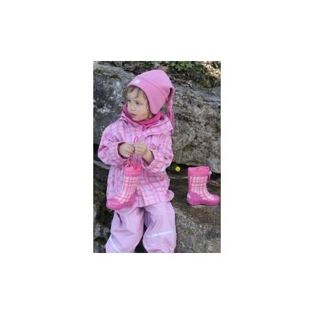 fleece muts roze kind