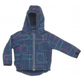 Outdoorjas Hip blauw- ademend