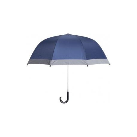 Kinderparaplu blauw met reflector