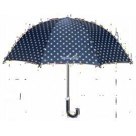 Paraplu met Stippen Blauw
