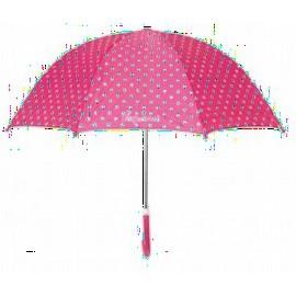 Paraplu met stippen - Roze