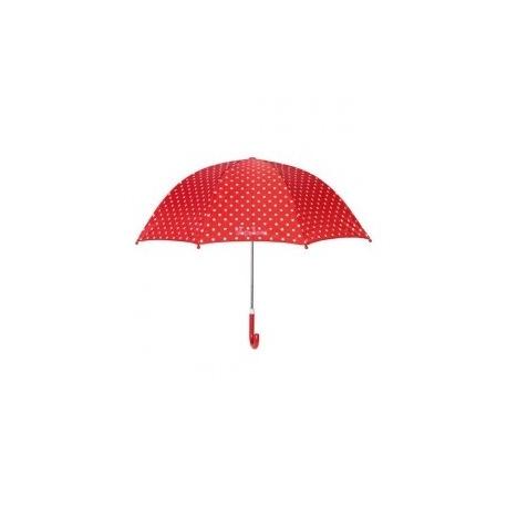 Kinderparaplu Stippen Rood