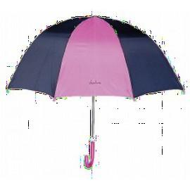 Kinder paraplu roze met blauw