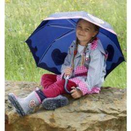 regenjas meisje Country Style Blauw