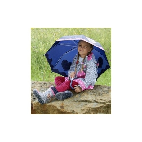 Kinderparaplu Country Style - blauw