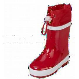 gevoerde regenlaarzen rood