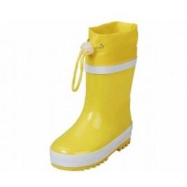gevoerde regenlaarzen geel
