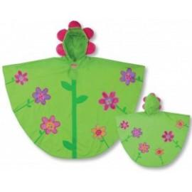 Regenponcho - Flowers