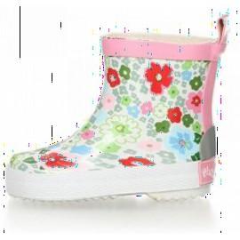 korte regenlaarsjes bloemen