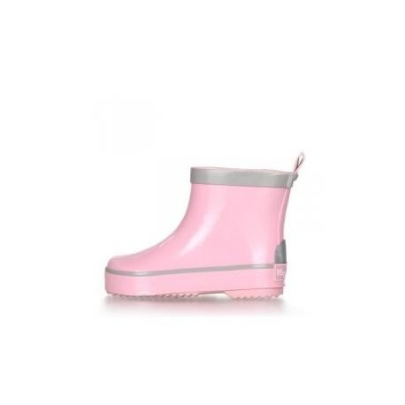 korte regenlaarsjes zacht roze