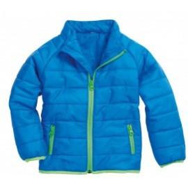 gewatteerde jas blauw kind