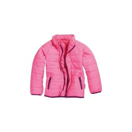 gewatteerde jas roze meisje