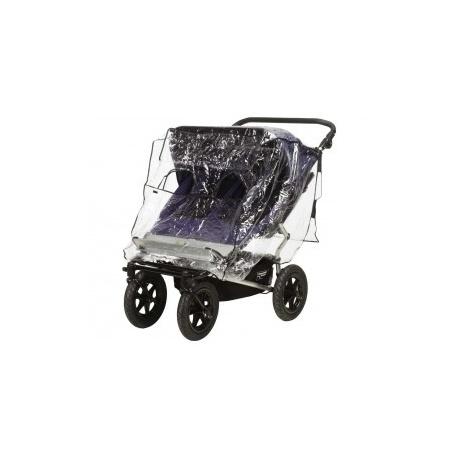 Regenhoes tweeling buggy