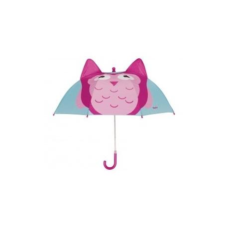 Kinderparaplu Uil - kindvriendelijke sluiting
