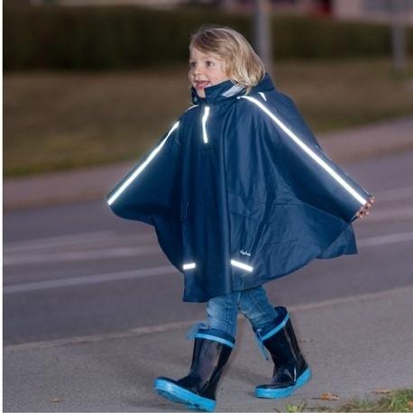 Regenponcho Blauw Playshoes