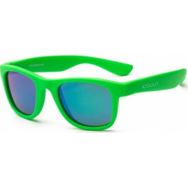 Zonnebril - Neon Green - 3-10 years - Koolsun - WAVE