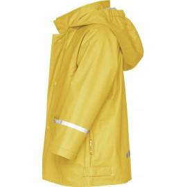 regenjas kind geel