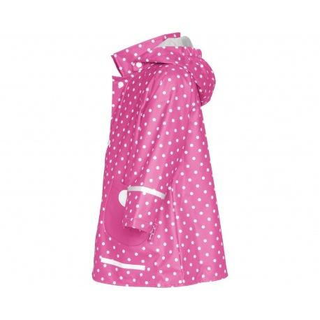 meisjes regenjas stippen roze