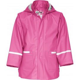 Kinder regenjas - (hard) Roze