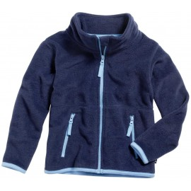kinder fleece vest donkerblauw