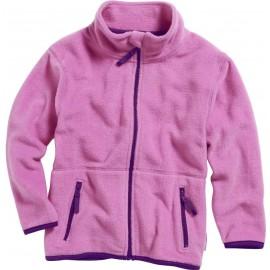fleece vest roze meisje