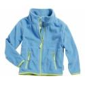 kinder fleece vest licht blauw