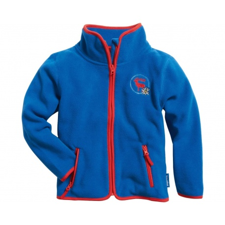 fleece vest blauw kind