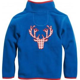 fleece vest blauw kind