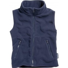 Fleece Bodywarmer Blauw