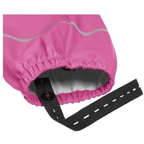 Regenoverall roze onderzijde
