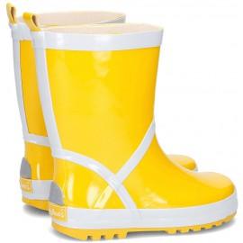 Vrolijke regenlaarzen - Geel - Playshoes