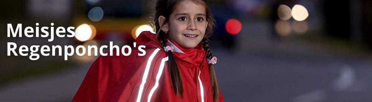 Regenponcho meisje | kinder regenponcho's koop je bij StoereKindjes